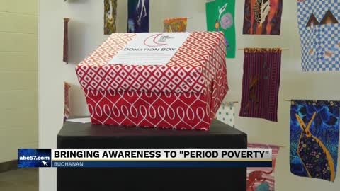 Buchanan donation drive bringing awareness to period poverty